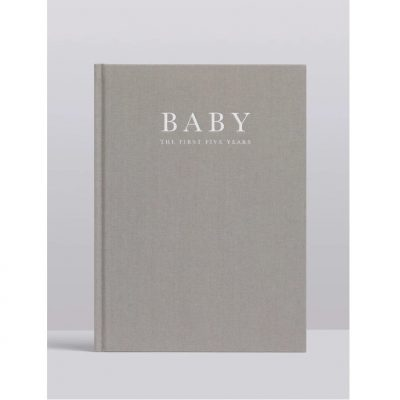 Gender neutral baby record books