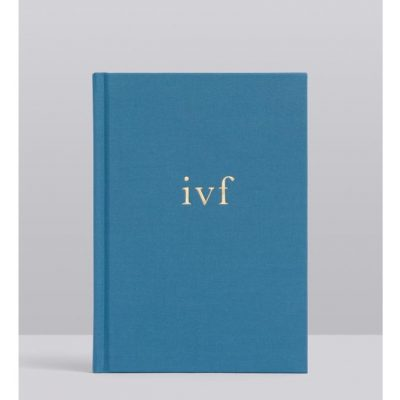 Blue IVF Journal by Write to Me